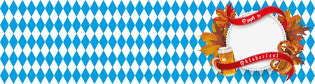 German text Ozapft is and Oktoberfest, translate on tap and Oktoberfest. vector file. Illustration