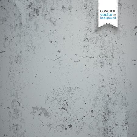 Gray concrete background. Eps 10 vector file. Illustration