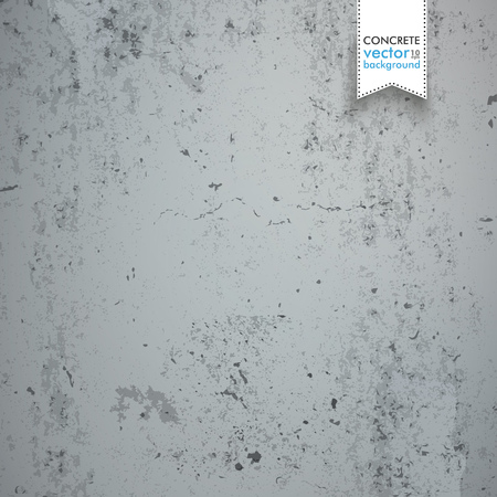 constructional: Gray concrete background. Eps 10 vector file. Illustration