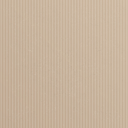 Brown and striped card board background. Eps 10 vector file. Illustration