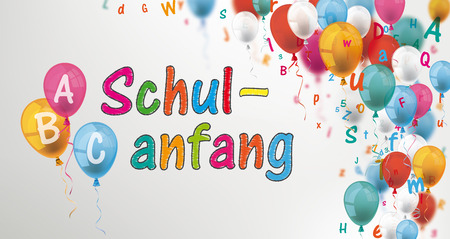 German text Schulanfang, translate Back to School.