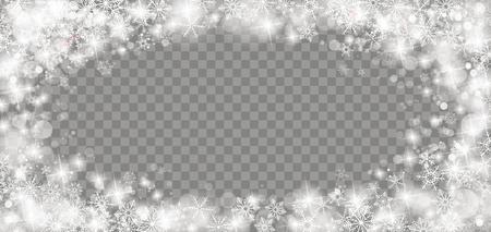 Bevroren glas met ijskristallen, bokeh en lichten op de gecontroleerde achtergrond. Eps 10 vectorbestand. Stock Illustratie