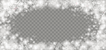 Frozen glass with ice crystalls, bokeh and lights on the checked background. Eps 10 vector file.