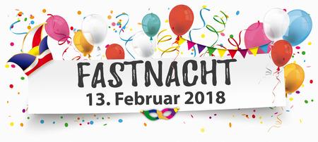 German text Fastnacht, translate Mardi Gras.