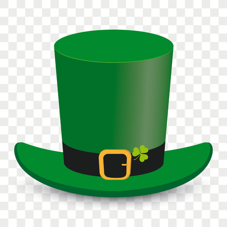 St Patricks Day Irish hat vector illustration