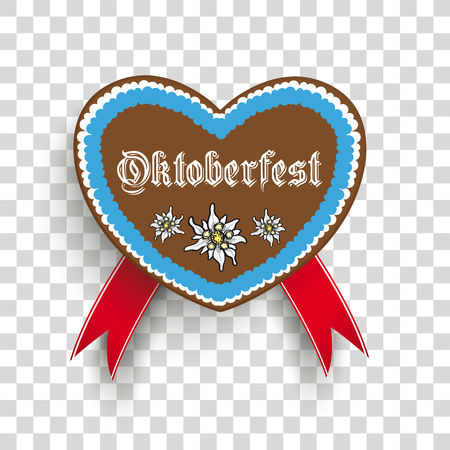 Oktoberfest design on the white background. Illusztráció