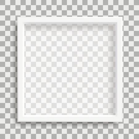 marco blanco en el fondo controlado . vector eps 10 incluido Ilustración de vector