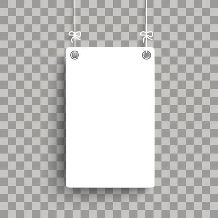 tablero blanco en el fondo controlado . eps 10 vector incluido