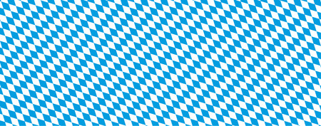 Seamless rhombus structure bavarian national colors. Eps 10 vector file.