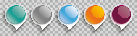 Glossy speech bubbles on the checked background. Eps 10 vector file.
