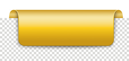 Long golden marker on the checked background. Eps 10 vector file. 矢量图像