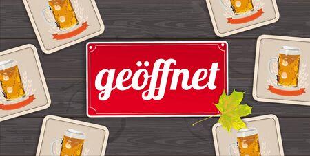 German  Geoeffent, translate Open.    vector file.