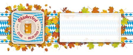 German text O´zapft is and Oktoberfest, translate on tap and Oktoberfest. Eps 10 vector file.