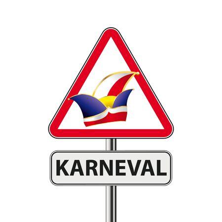 German text Karneval, translate Carnival.