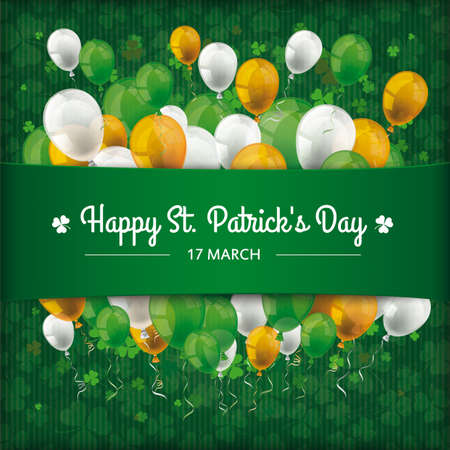 Vintage cover with for St. Patrick's Day. Eps 10 vector file.