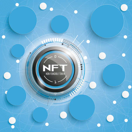 Network cover with the text NFT.