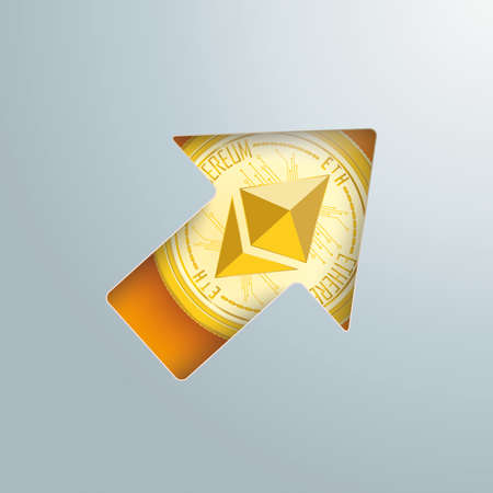 Ethereum is becoming more and more valuable. Vettoriali
