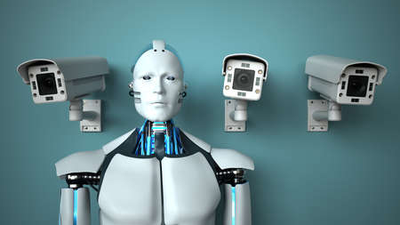 Artificial intelligence assists in monitoring.