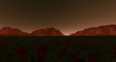 Terraforming Mars like Planet extremely detailed and realistic 3d image
