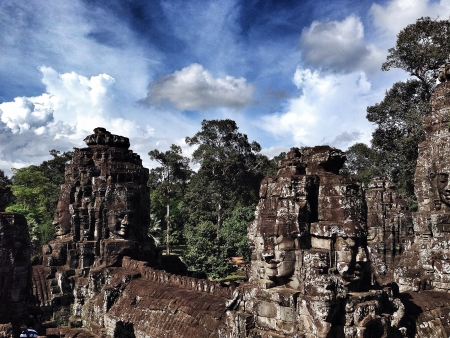 to reap: Siem Reap  Cambodia temple