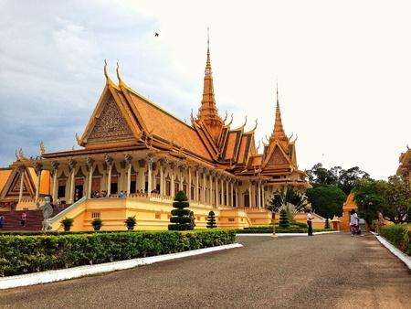 phnom penh: Phnom Penh Royal Palace  Cambodia  Stock Photo