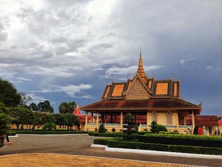 phnom penh: Phnom Penh Royal Palace Stock Photo