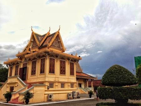 phnom penh: Royal palace at Phnom Penh