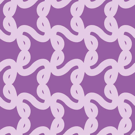Infinite loop vector repeat pattern. Continuous curvy line seamless illustration background.