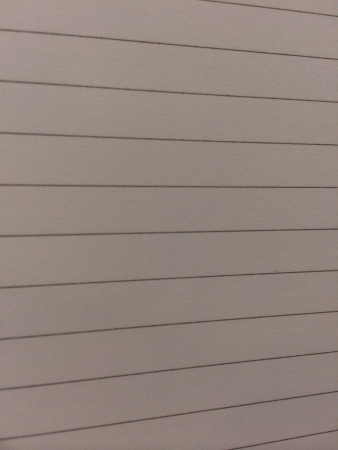 grid: White paper with black lines