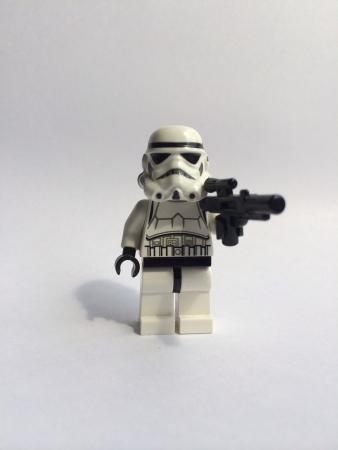trooper: White toy trooper