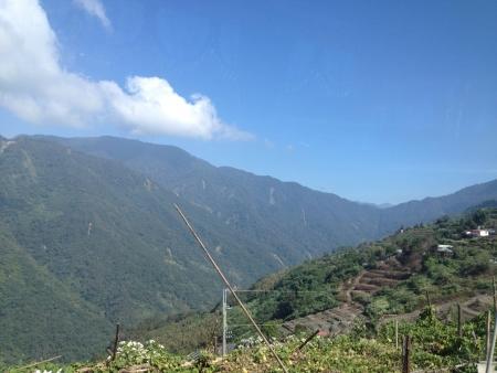 Beautiful scene taken @ hill side of Qingjing