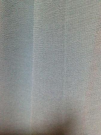 Green satin cloth Stock Photo