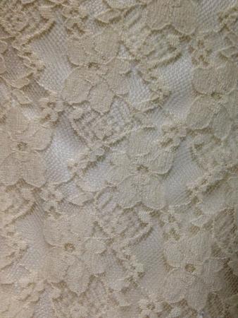 Creamy lace cloth