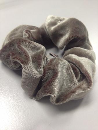 Velvet brown hairband