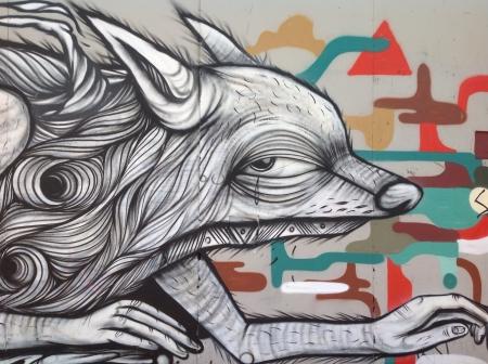Subways mural