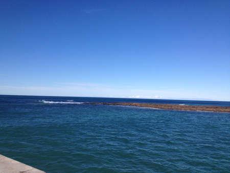Beautiful ocean view Stock Photo