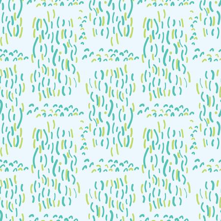 Blue Aqua Water Falling Vector Pattern Seamless Background, Drawn Liquid Scribble Illustration for Trendy Home Decor, Kids Fashion Print, Maritime Ocean Gift Wrap, Nature Wallpaper, Blue Beach Apparel