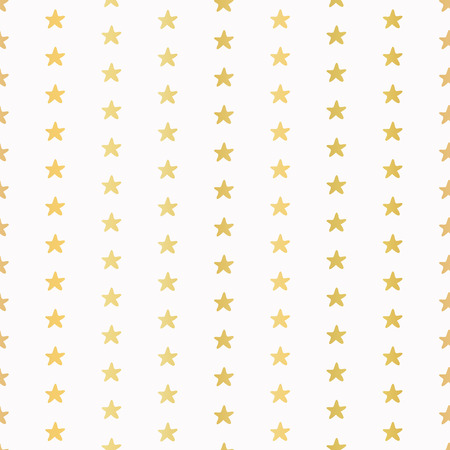 Luxe Gold Tiny Christmas Stars Confetti, Drawn Seamless Vector Pattern, Seamless Shiny Golden Illustration for Elegant Party Invitations, Wedding Stationery, Festive Metallic Foil Textures Backdrops