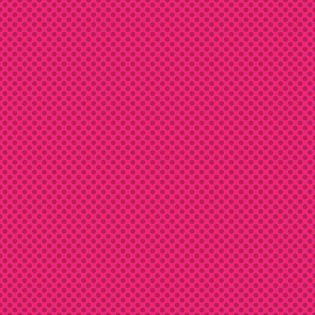 Bright geometric tiny polka dot seamless pattern. Pink all over print vector background. Ilustrace