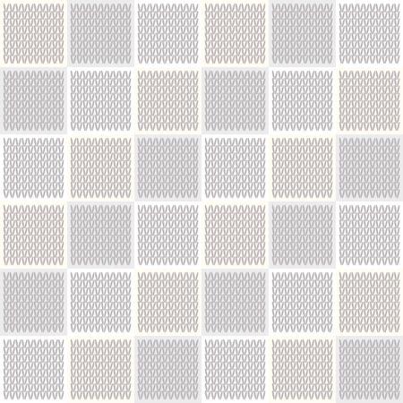 Gray Marl Blanket Knit Stitch Seamless Pattern. Homespun Handicraft Background. For Woolen Fabric, Cute Gender Neutral Grey Textile. Soft Monochrome Yarn Melange Scandi All Over Print.