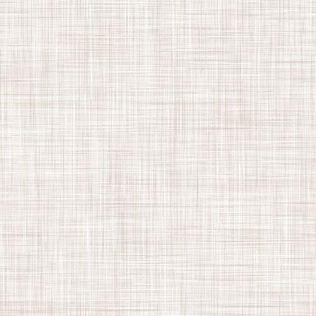 Natürlicher weißer grauer französischer Leinenbeschaffenheits-Hintergrund. Altes Ecru Flachs-Faser-nahtloses Muster. Bio-Garn Nahaufnahme Gewebe für Tapeten, Ecru Beige Tuch Verpackung Leinwand. Vektor.