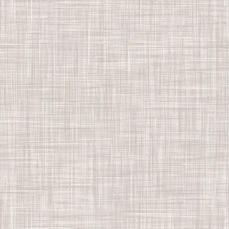 Natural White Gray French Linen Texture Background. Old Ecru Flax Fibre Seamless Pattern. Organic Yarn Close Up Weave Fabric for Wallpaper, Ecru Beige Cloth Packaging Canvas.