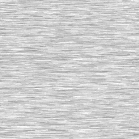 Weißer grauer Hintergrund-Triblend mit grauer Mergel-Heide-Beschaffenheit. Faux Baumwollstoff mit vertikalem T-Shirt-Stil. Vektormuster in Hellgrau Melange Space Dye Textileffekt.