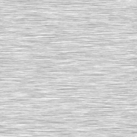 White Grey Background Triblend with Grey Marl Heather Texture. Faux Cotton Fabric with Vertical T Shirt Style. Vector Pattern in Light Gray Melange Space Dye Textile Effect.
