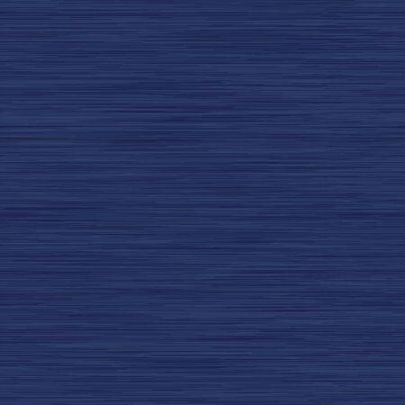Classic Blue Dark Denim Mergel Vektor nahtlose Muster. Melierte Jeans-Effekt. Indigo Space Dyed Texture Fabric Textile Hintergrund. Baumwoll-Melange-T-Shirt All Over Print mit Wassergefühl.