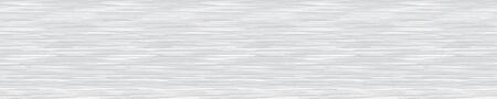 White Grey Marl Heather Border Texture Background. Faux Cotton Fabric with Vertical T Shirt Stripe. Vector Pattern Design. Light Gray Melange Space Dye Edging Trim for Textile Effect.