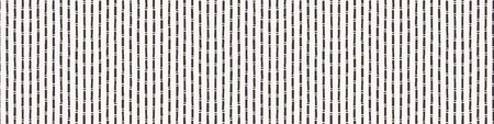 Hand Drawn Bamboo Stem Seamless Border Vector Pattern. Japanese Striped Plant Banner Edging. Monochrome Simple Neutral Tones. Washi Tape for Asian Home Decor Edge Trim. Nature Leaf Stem.