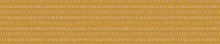 Kantha Embroidery Stitches Border Texture. Vector Illustration