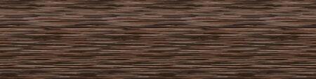 Dark Brown Marl Variegated Heather Texture Border Background. Blended Line Seamless Pattern.