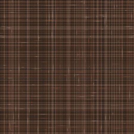 Dark Brown French Linen Texture Background. Variegated Flax Fibre Seamless Pattern. Organic Yarn Close Up Weave Faux Fabric for Wallpaper, Sack Cloth Packaging, Canvas. Vector EPS10 .